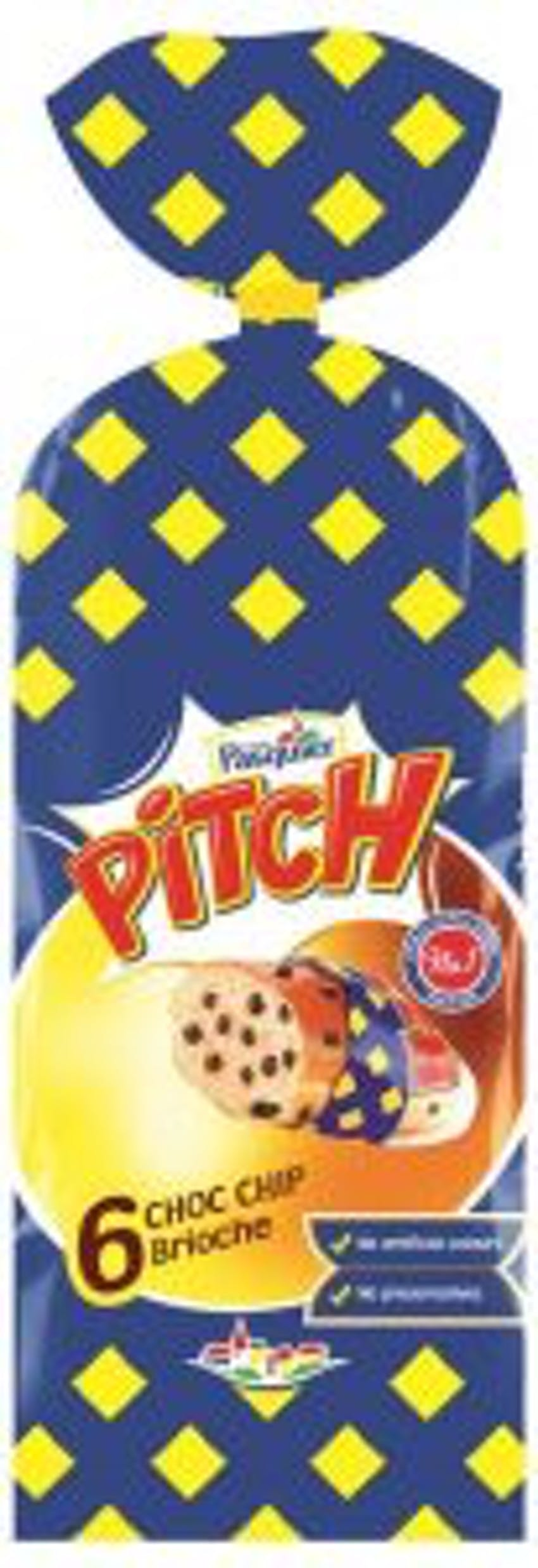 brioche pasquier brioche chocolate chip packet