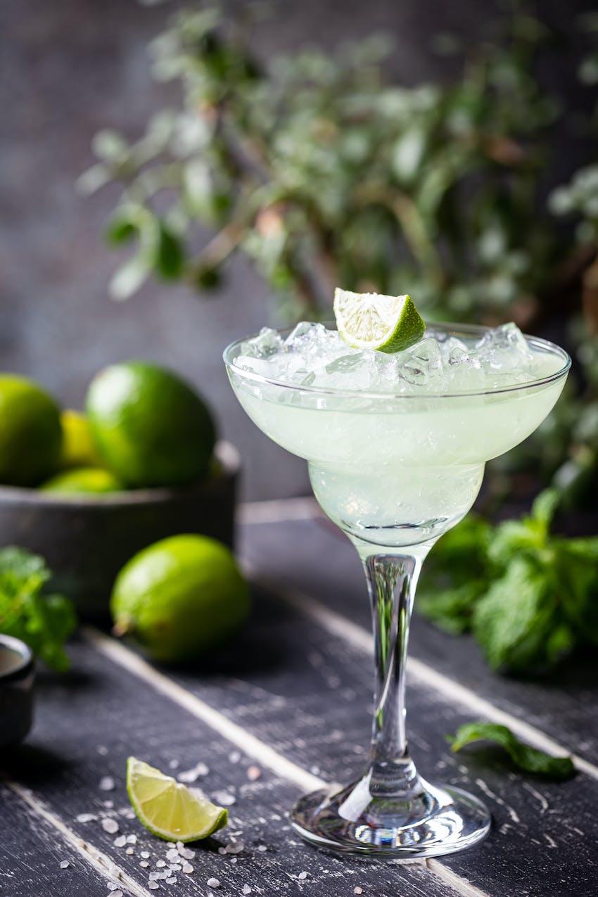 Margarita in a margarita glass