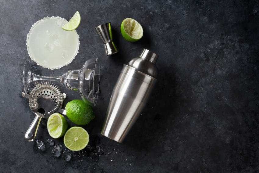 You'll need a cocktail shaker for a real margarita