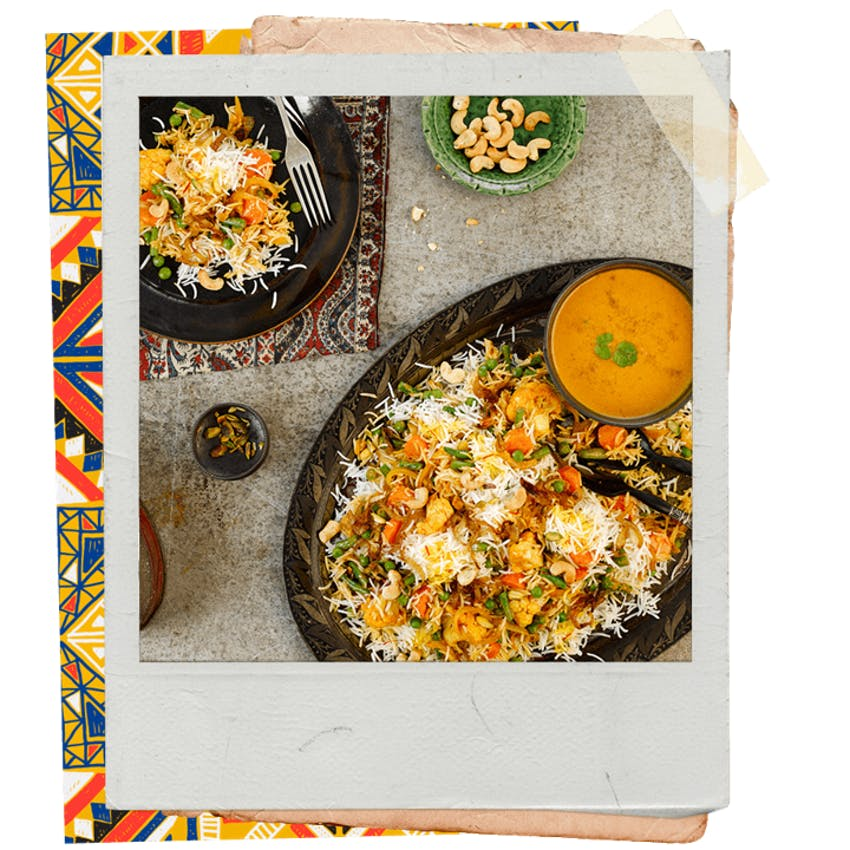 tilda rice a mixture of exotic spice blends