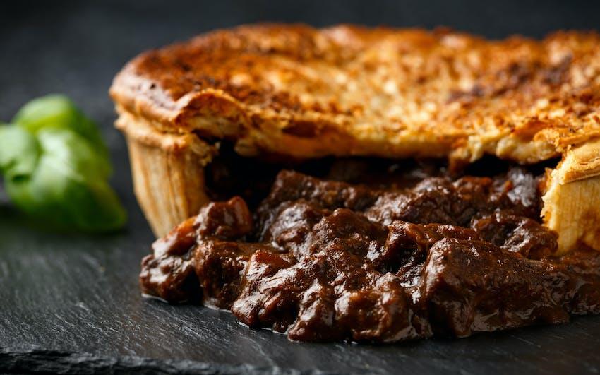 A Steak and Kidney Pie