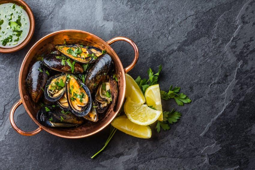 Irish Mussels