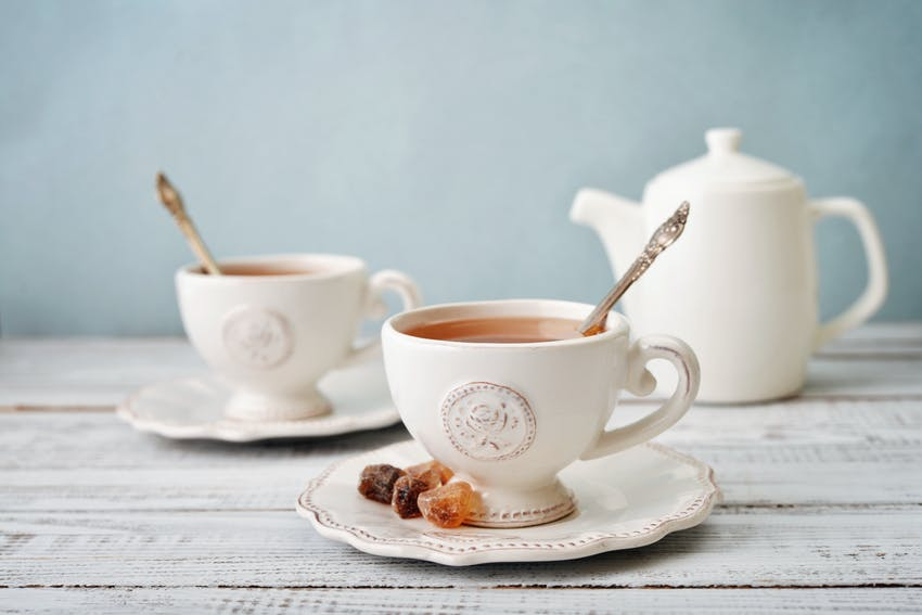 A cup of English Breakfast - one of the world's most famous teas