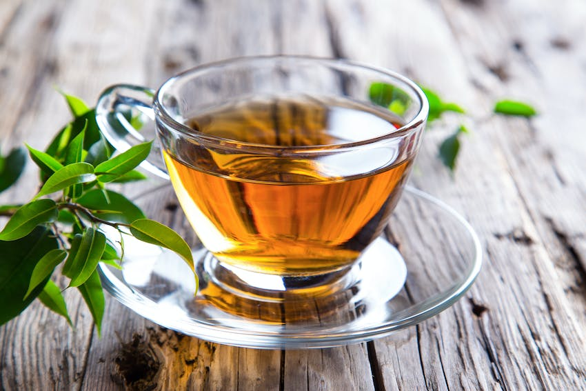 Green tea - one of the world's most famous teas