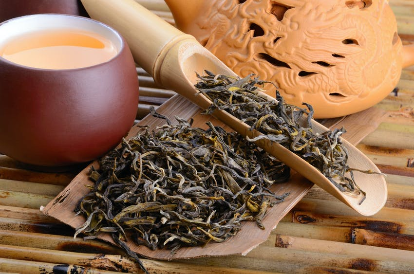 Oolong - one of the world's most famous teas