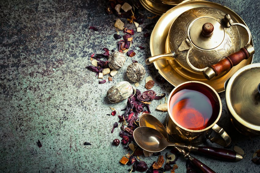 Ceylon - one of the world's most famous teas