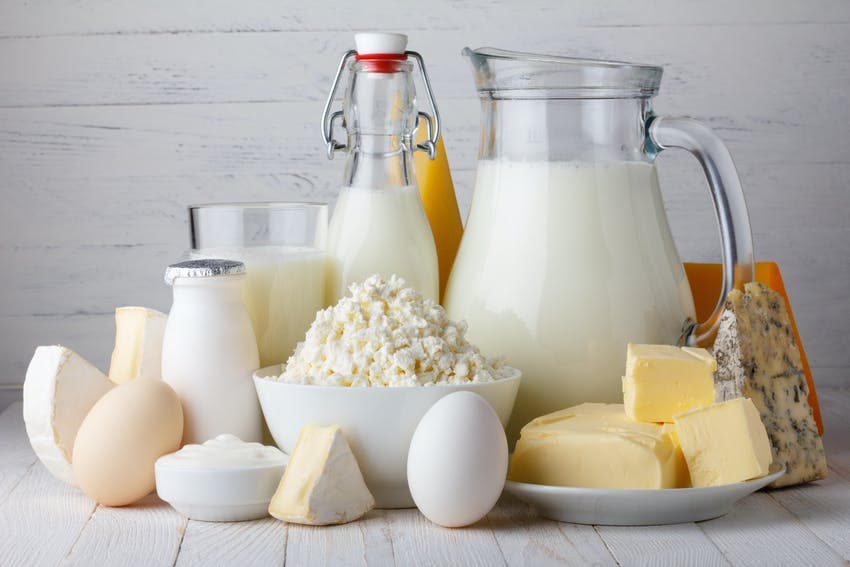 Foods that are good for your teeth - Dairy products