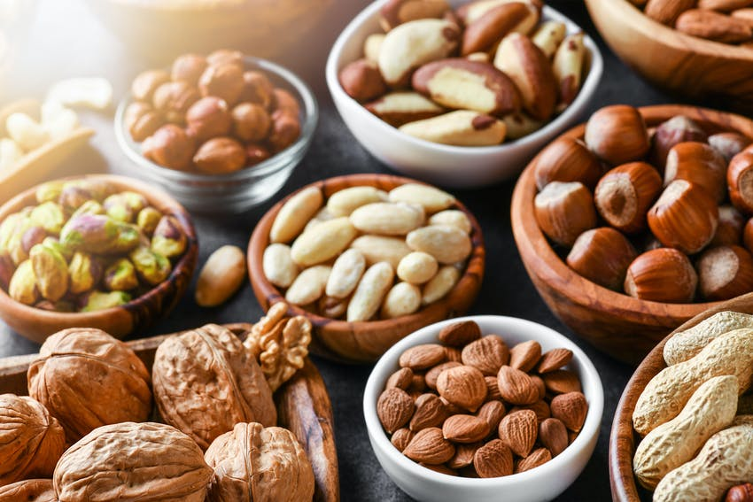 Foods that are good for your teeth - Nuts