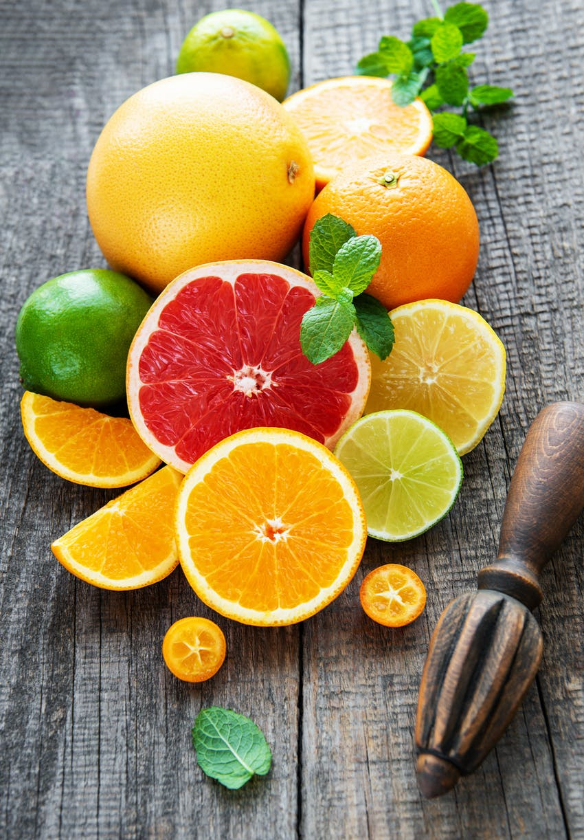 Citrus fruits are not good for your teeth