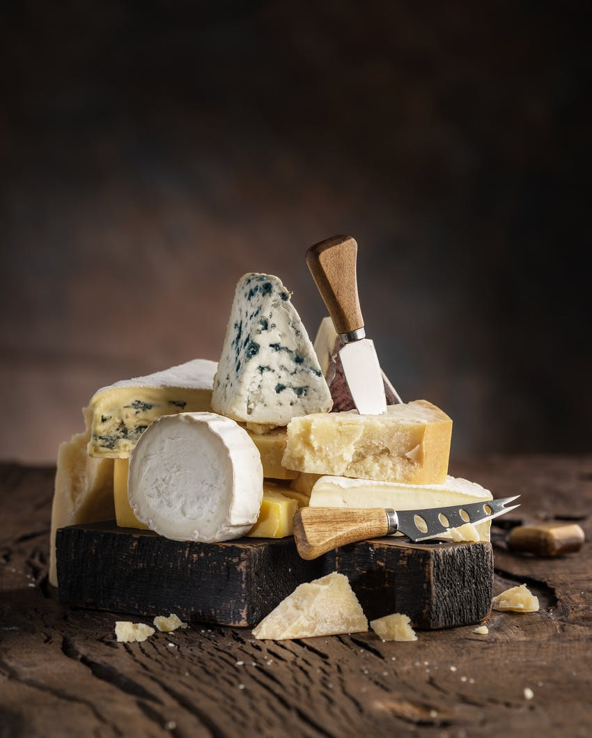 Allergen Deep Dive: Milk - A selection of Cheeses made from milk