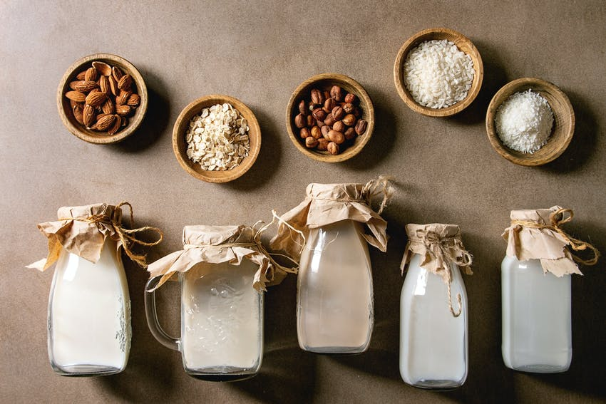 Allergen Deep Dive: Milk  - selection of milk alternatives