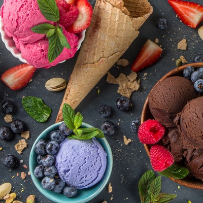 Ice cream questions answered - different flavours of ice cream