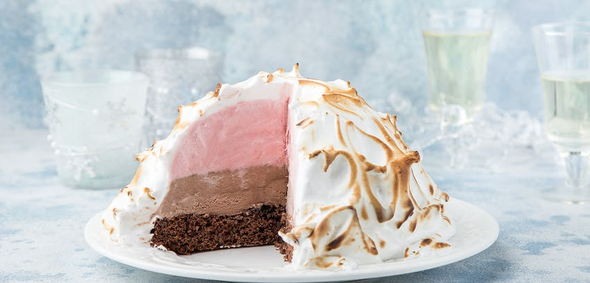 Ice cream questions answered - Baked Alaska