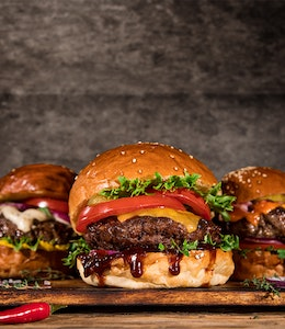 The Best Burger Toppings - a selection of Burger Toppings