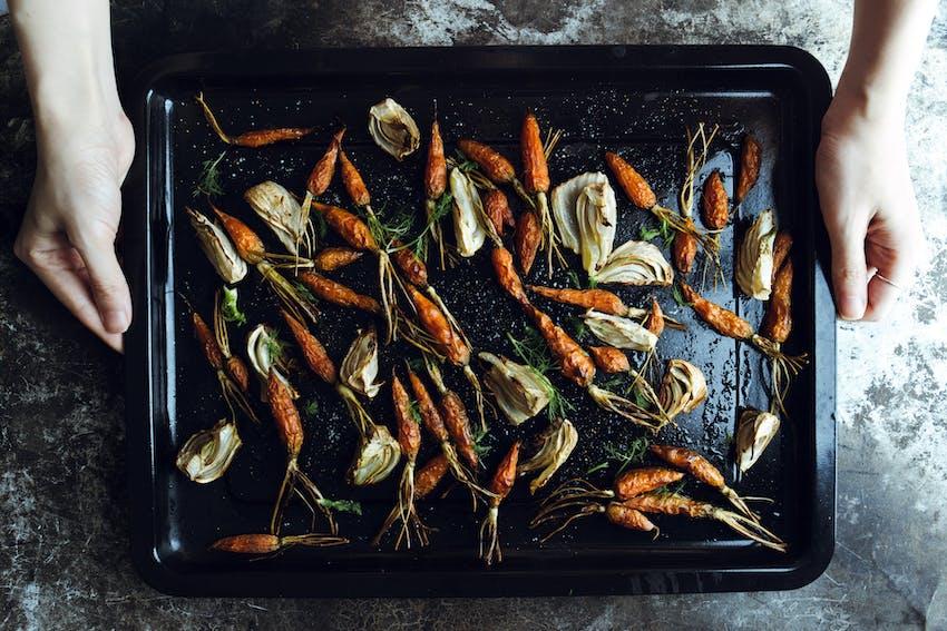 Haute Cuisine Christmas - Honey glazed vegetables