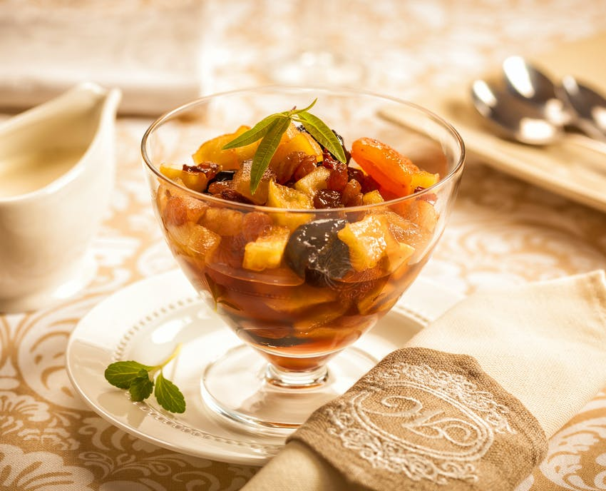 Haute Cuisine Christmas - Dried fruit compote
