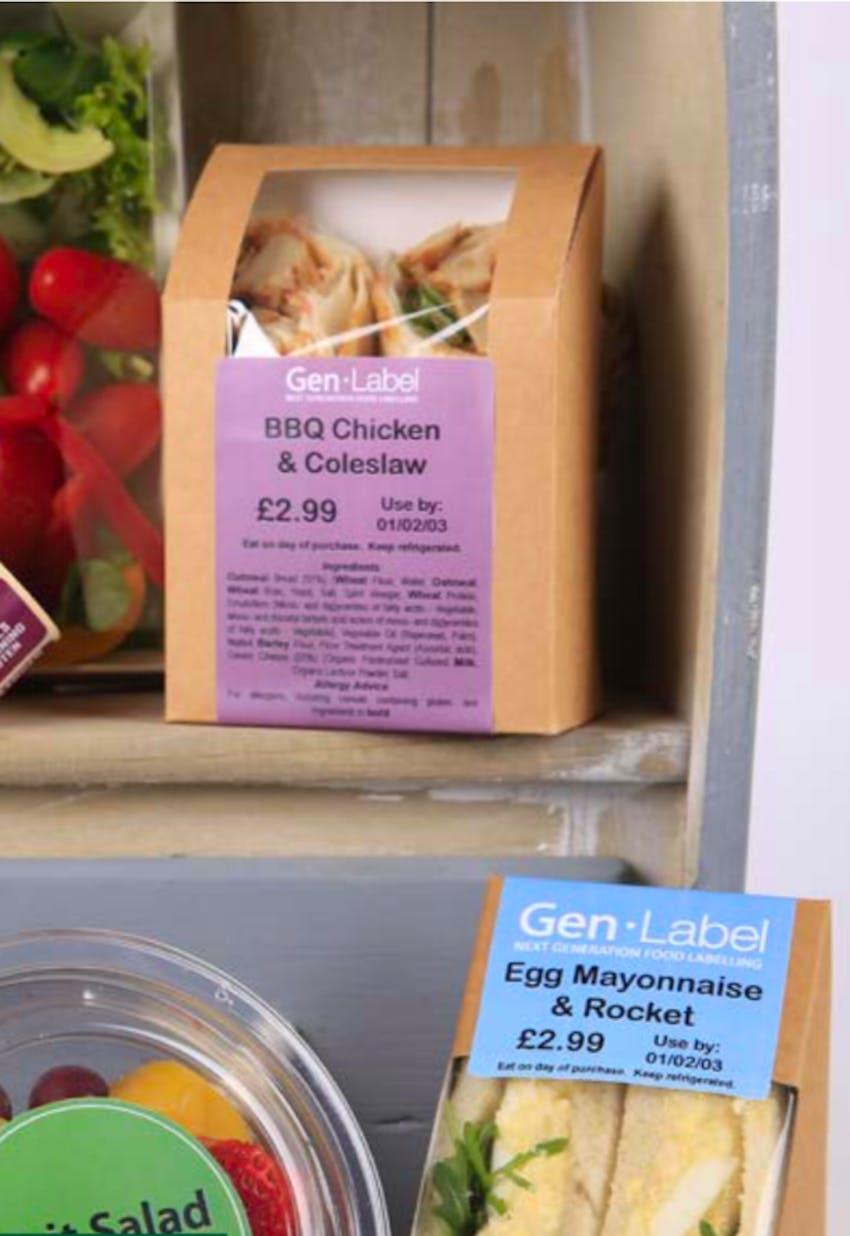 New Erudus Integration Partner: Gen-Label packaging