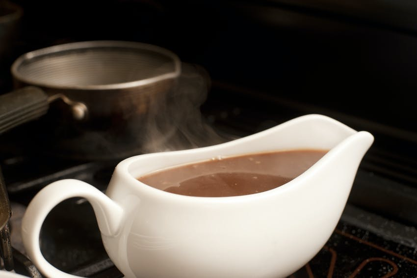 Christmas foods to make now, use later - gravy