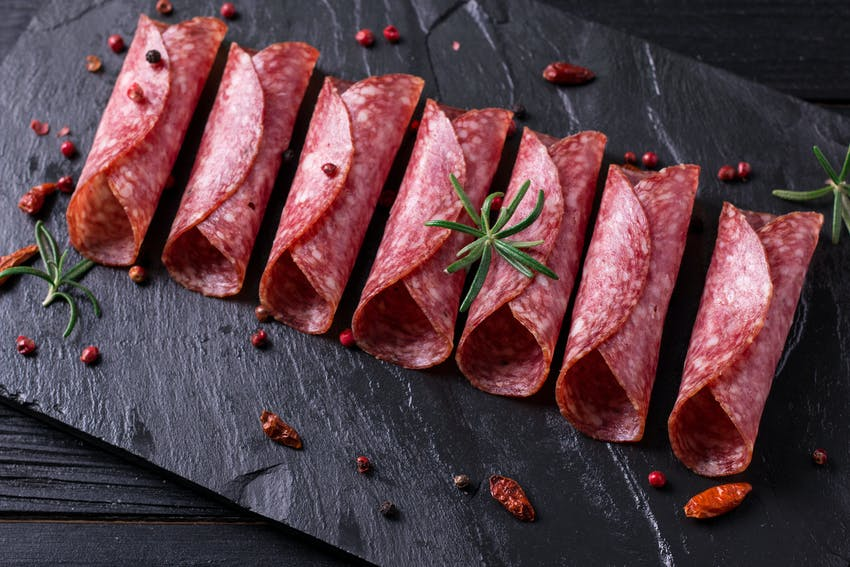 Christmas foods to make now, use later  - salt cured pigs in blankets