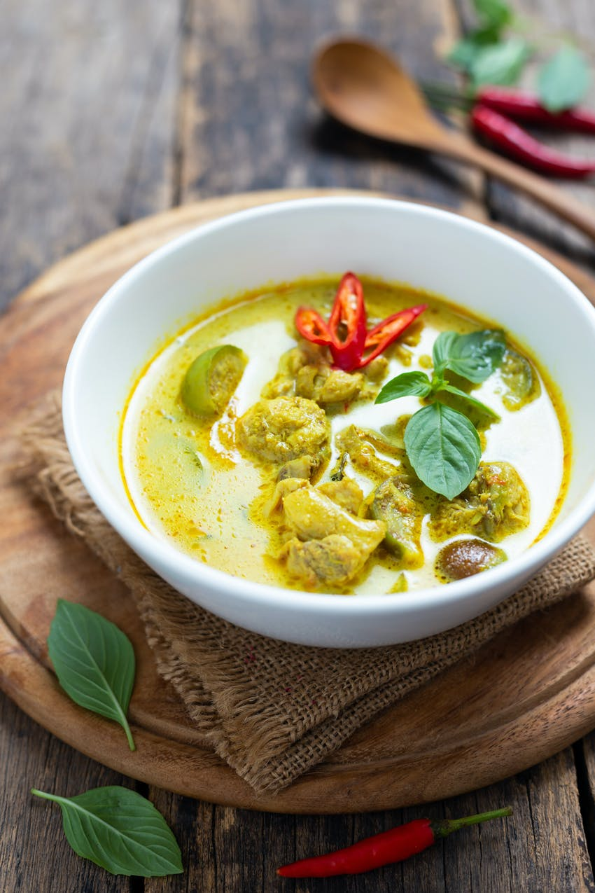 Allergen Deep Dive: Crustaceans - Thai Green Curry containing shrimp paste