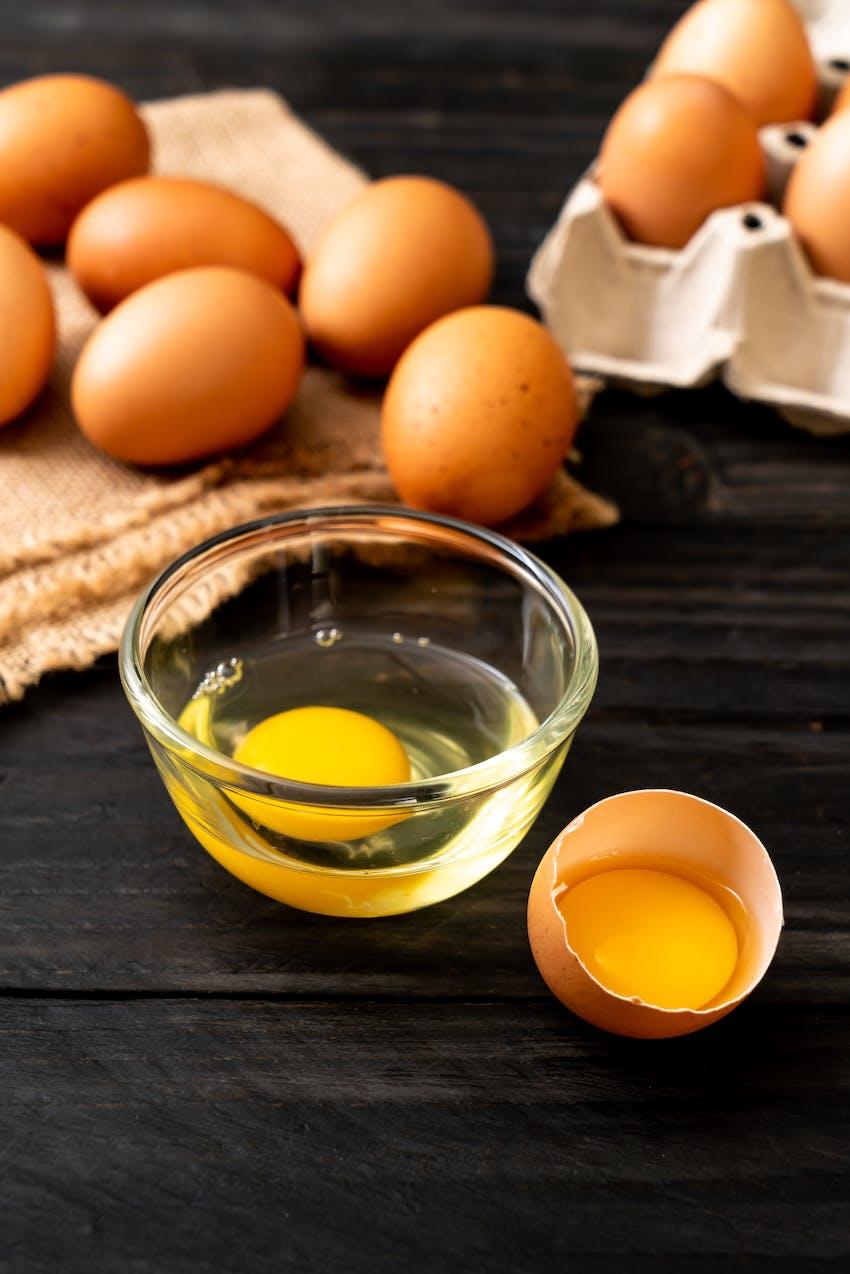 Allergen Deep Dive: Eggs  - parts of an egg