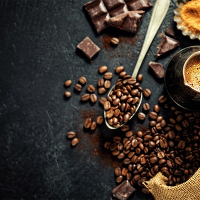 Best foods with coffee in them - coffee beans