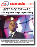 Canada.com article about the newest trend in plastic surgery, chin implants