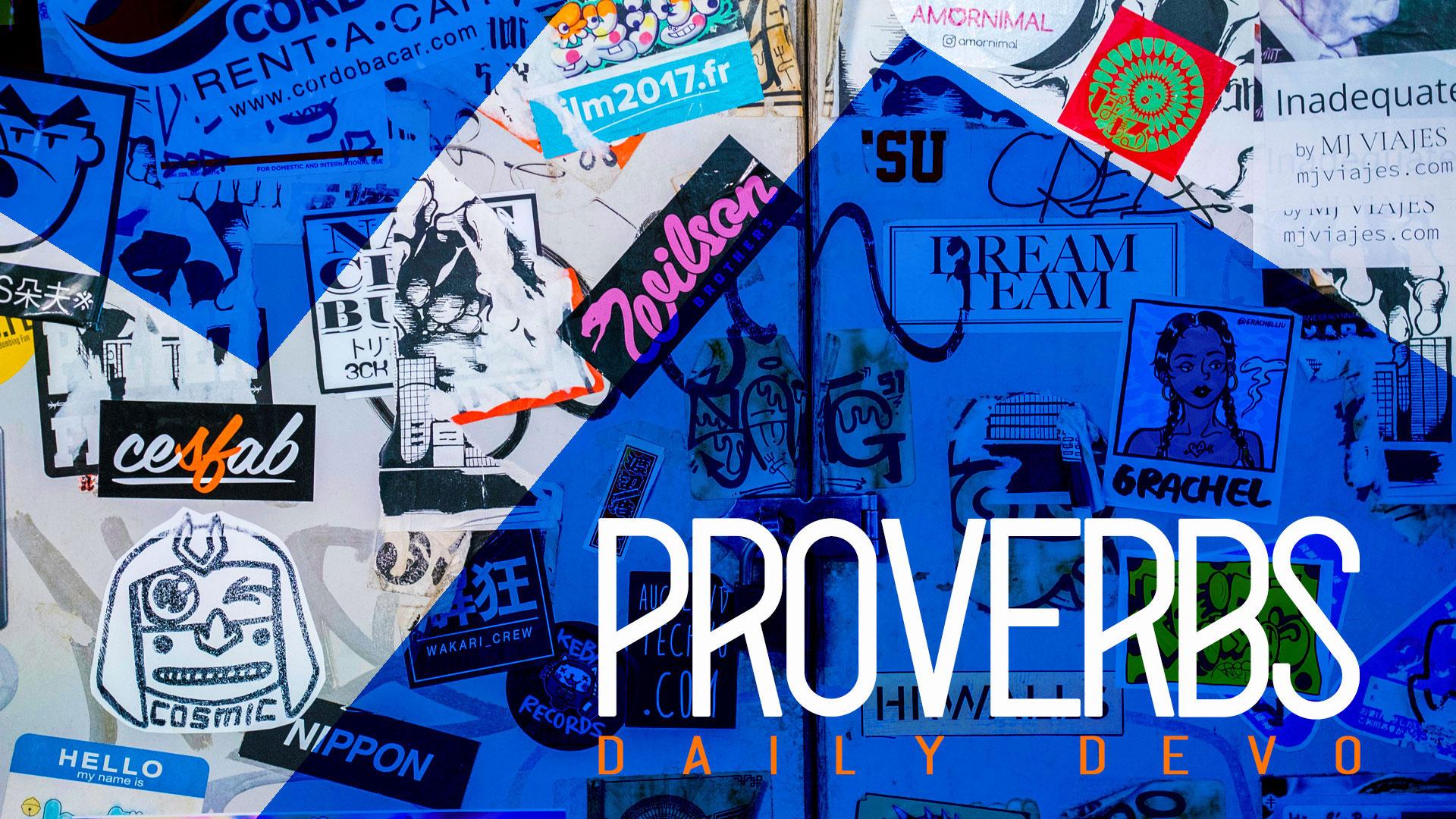Series: Proverbs