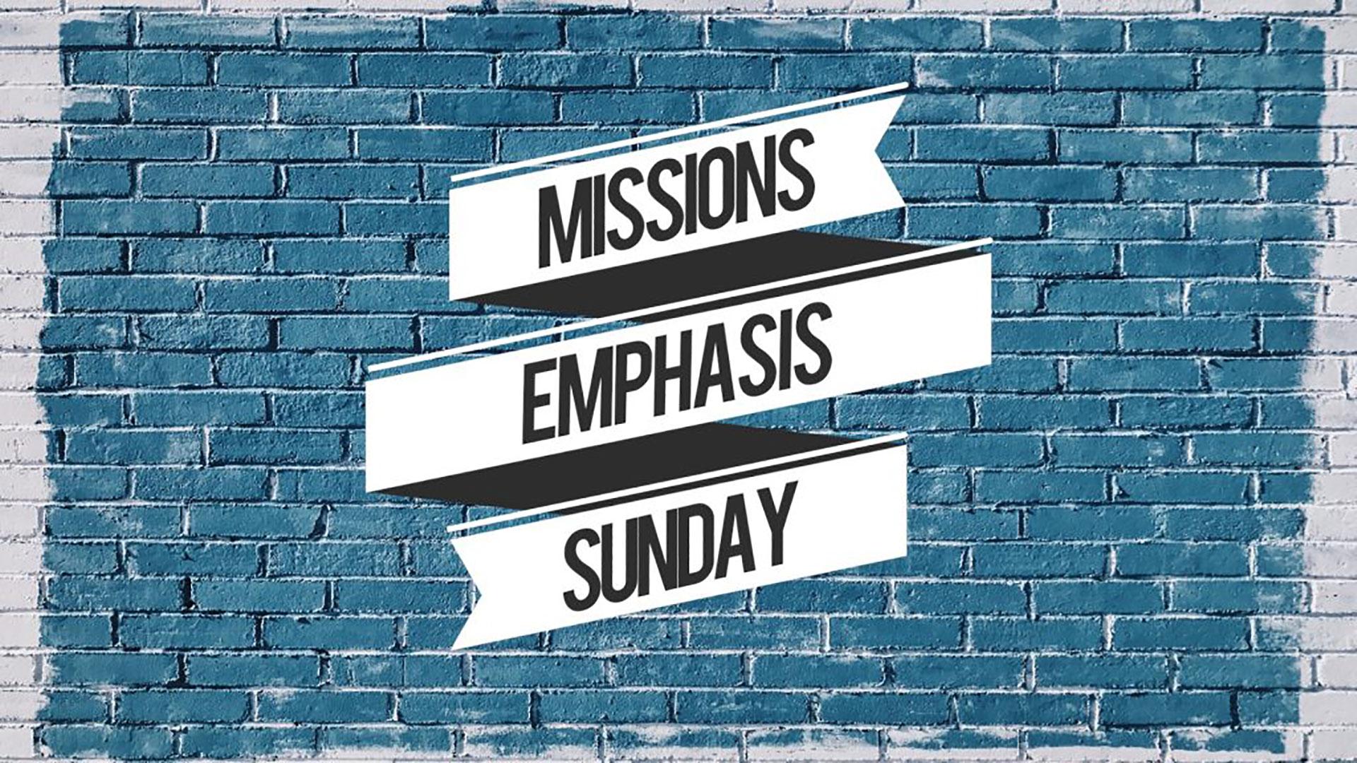 Series: Mission Sunday