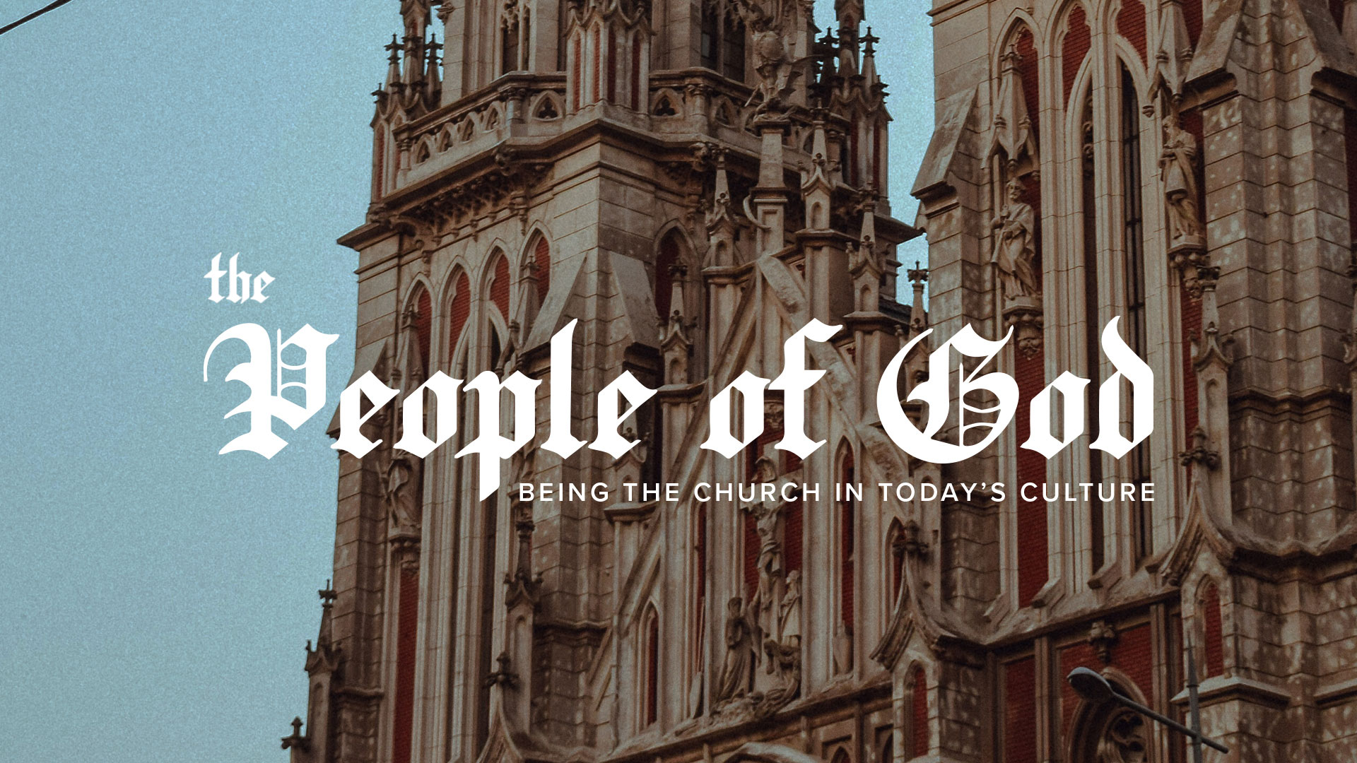 Series: The People Of God