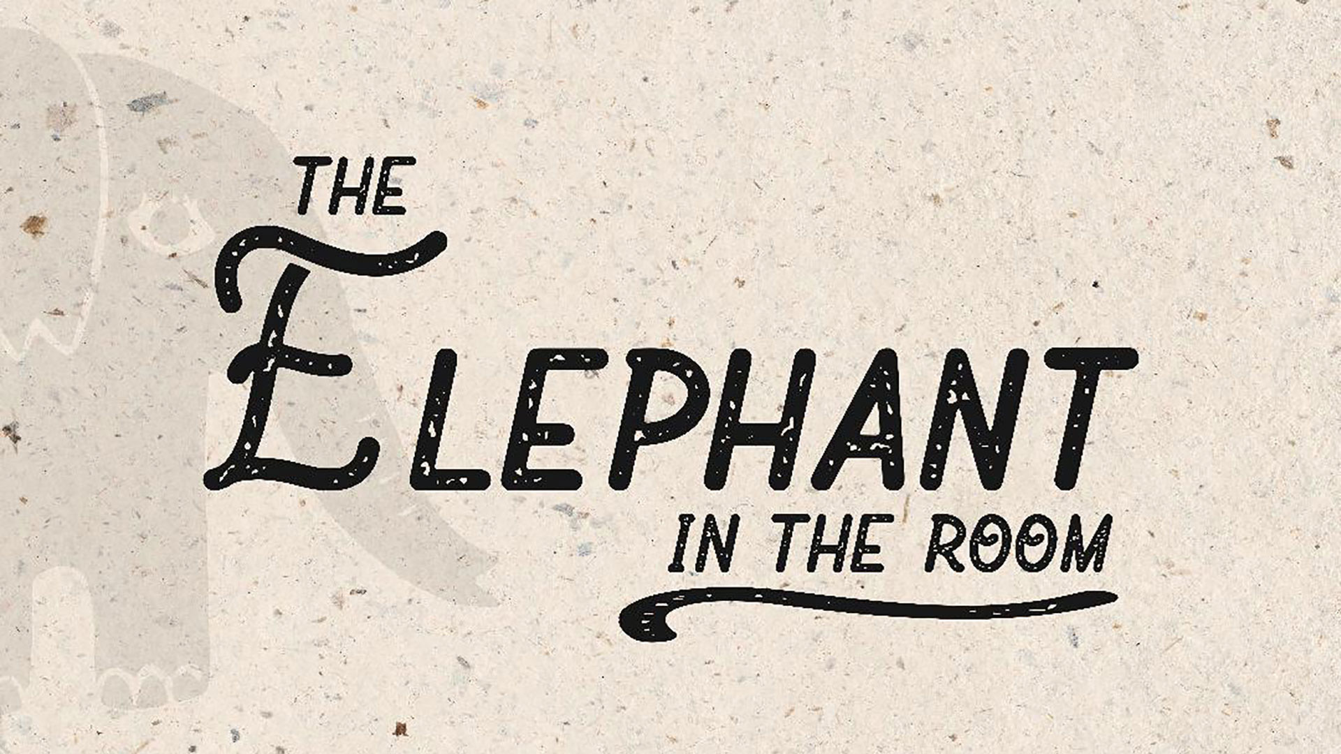 Series: Elephant In The Room
