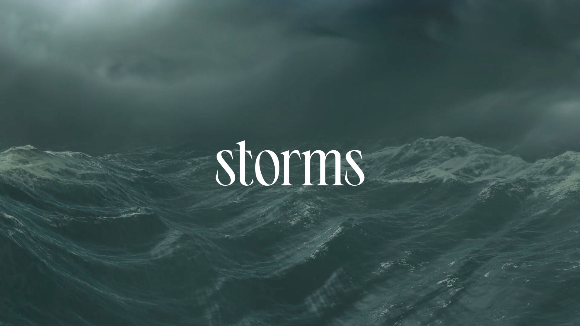 Series: Storms