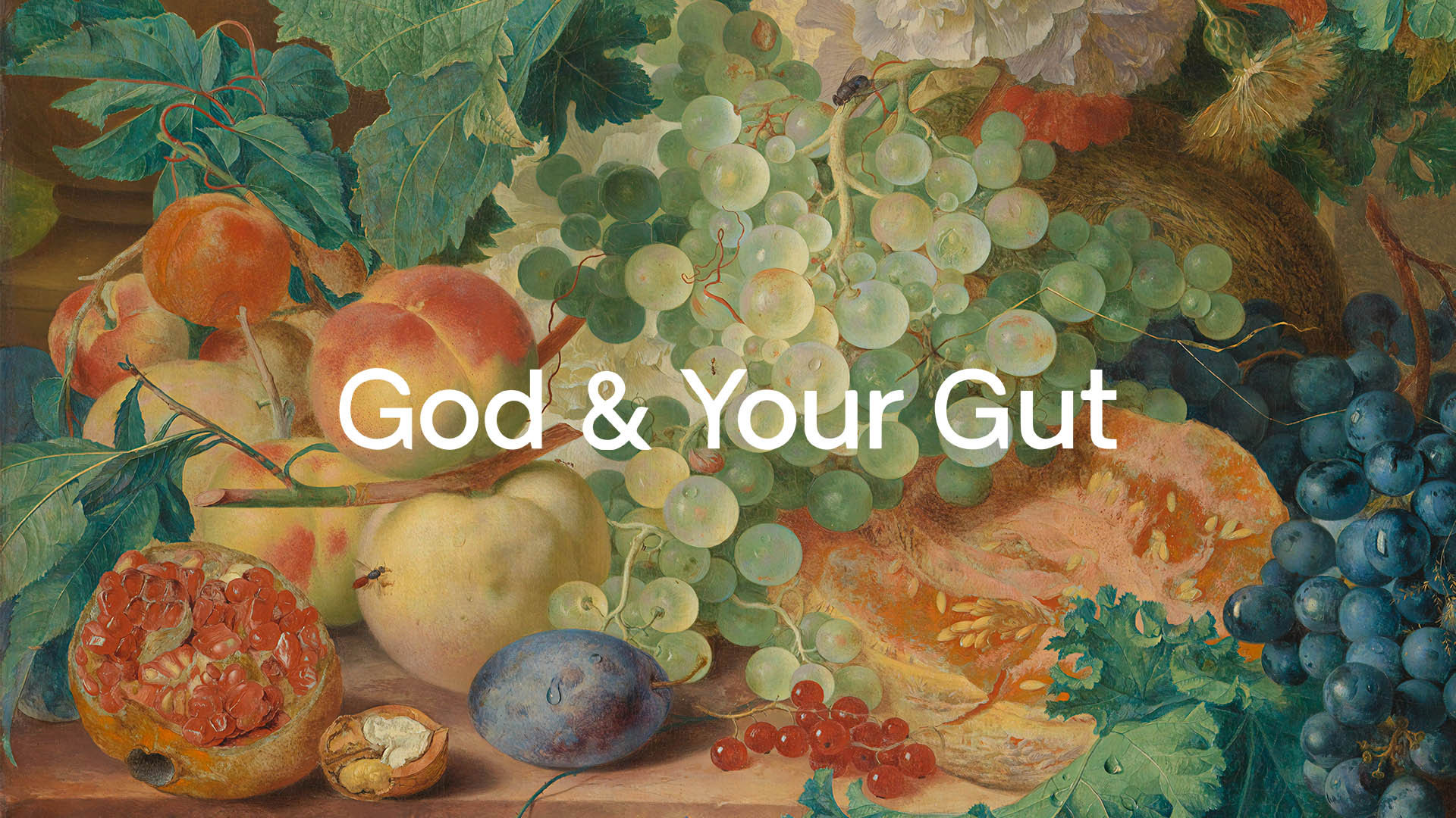 Series: God & Your Gut