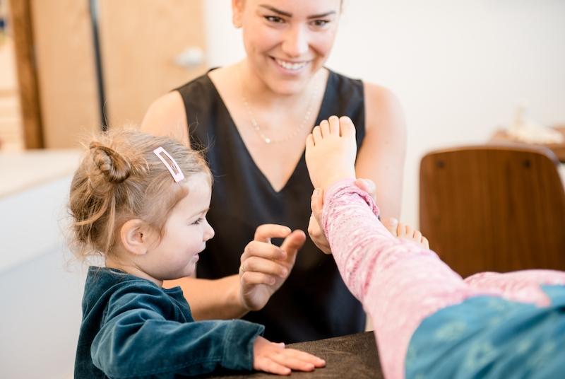Évaluation de la posture et démarche chez l'enfant