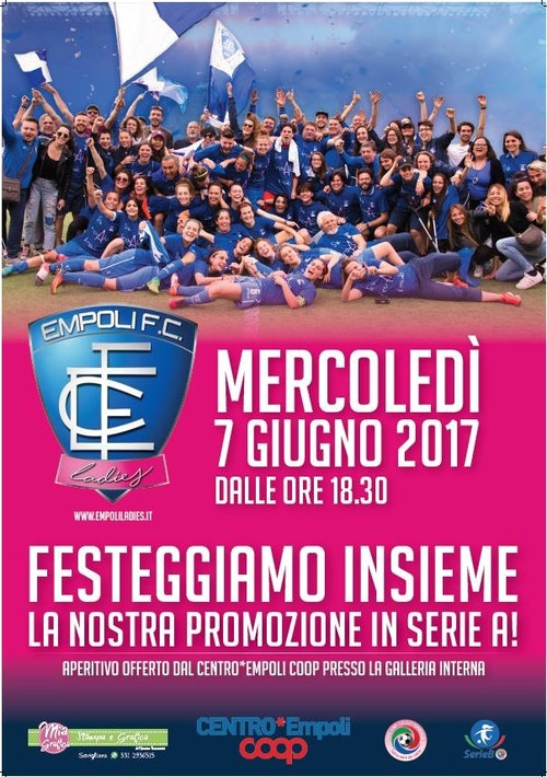 Empoli Ladies FBC in Serie A!