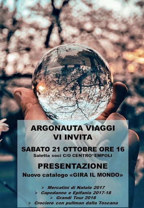 """Presentazione Catalogo """"Gira il Mondo"""""""