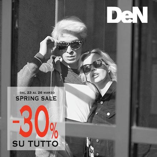 Spring sale -30% su tutto!