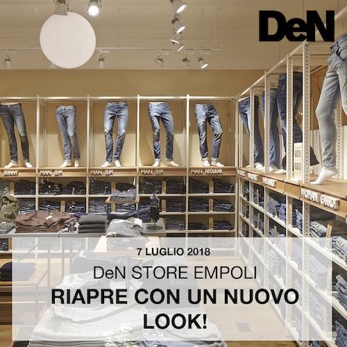 Nuovo look per DeN Store Empoli