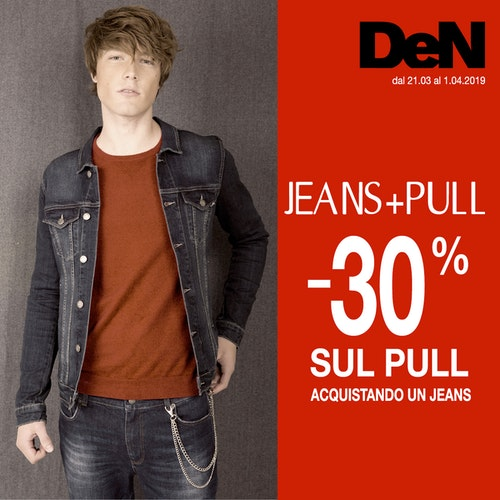 PROMO JEANS+PULL