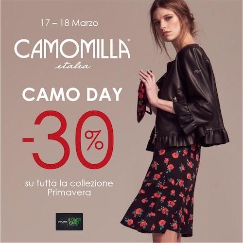 Camo Day 30% su tutta la collezione