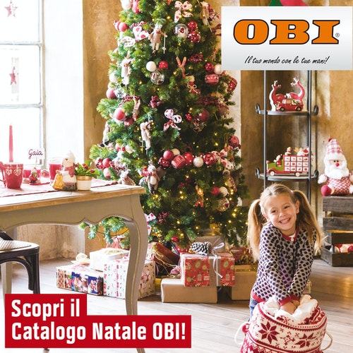 Catalogo Natale OBI 2018
