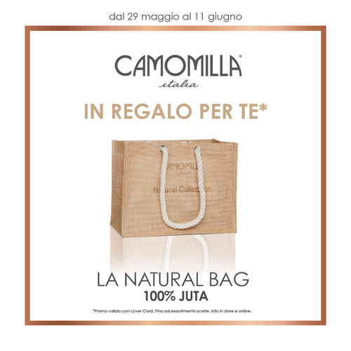 Camomila - Natural Bag in regalo