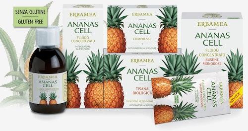 Erboristeria DR. AMATO: linea ananas cell con sopresa