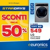 Euronics: Star Days! Fino al 50% di sconto