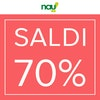 Nau: Fino al 70%!