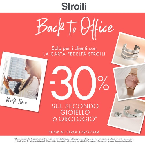 Stroili: Back to Office