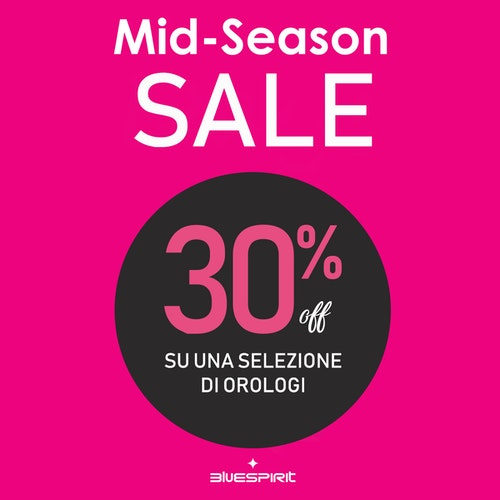 Blue Spirit: Mid Season Sale