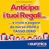 Euronics: tasso zero