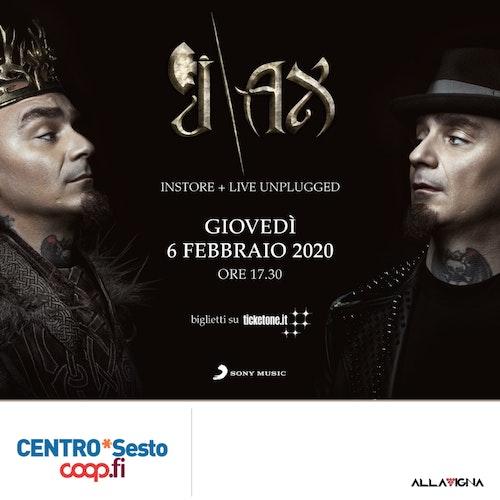 J-AX a Centro*Sesto | Instore + Live Unplugged