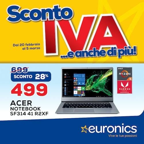 Euronics - Sconto IVA e anche più!